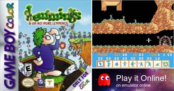 play lemmings online