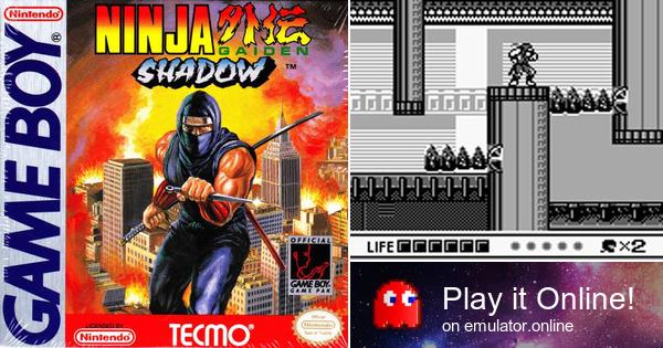 Play Ninja Gaiden Shadow On Game Boy
