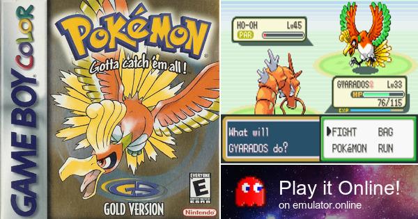 Pokémon gold: gameboy colour: amazon. Co. Uk: pc & video games.