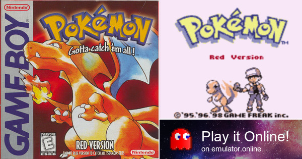 play pokemon red version on game boy