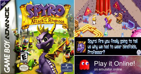 Spyro game boy advance download
