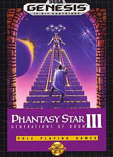 Phantasy Star 3: Generations of Doom