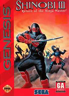Shinobi 3: Return of the Ninja Master