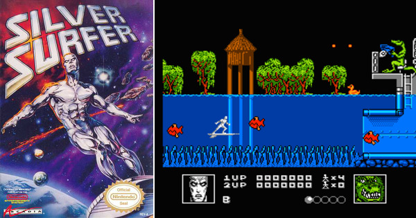 Play Silver Surfer On Nes