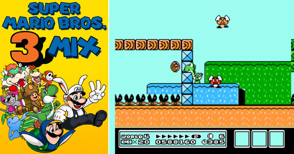 Play Super Mario Bros  3 Mix on NES