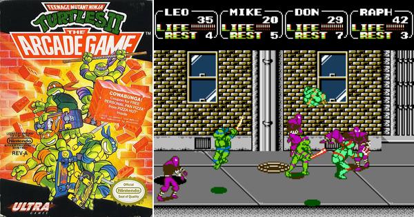 Play Teenage Mutant Ninja Turtles 2: The Arcade Game on NES