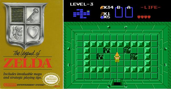 Play The Legend of Zelda on NES