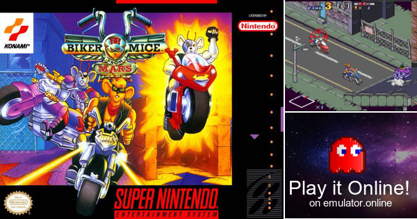 Play Biker Mice From Mars On Super Nintendo