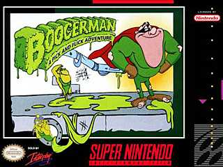 Boogerman: A Pick and Flick Adventure