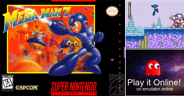 Play Mega Man X2 on Super Nintendo