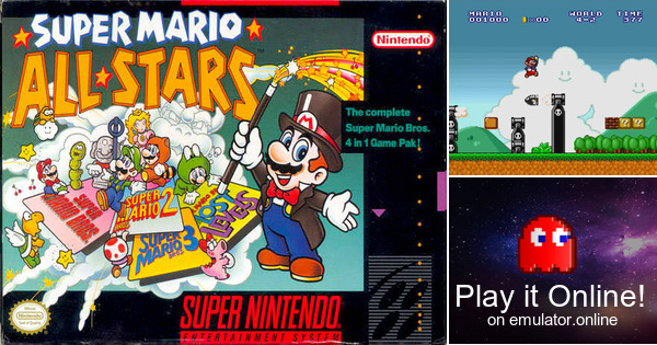 Play Super Mario All-Stars on Super Nintendo