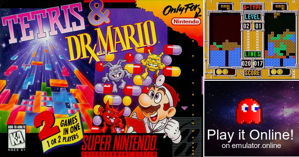 play tetris dr mario on super nintendo