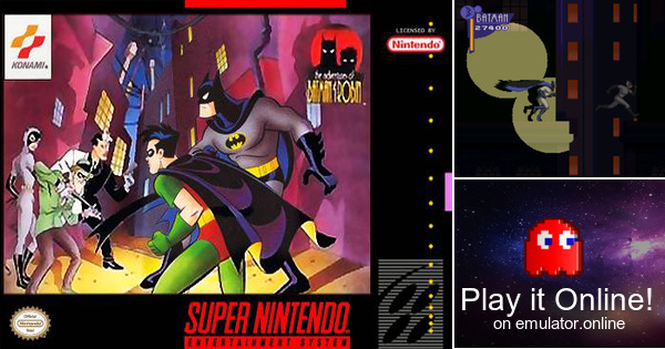 Play The Adventures Of Batman Amp Robin On Super Nintendo