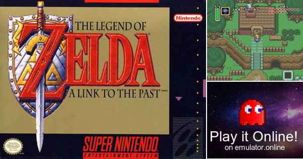 The Legend of Zelda - A Link to the Past & Four Swords ...
