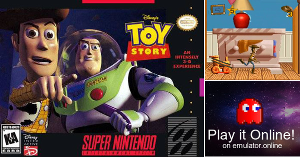 Toy Story Games To Play : Play disney s toy story on super nintendo