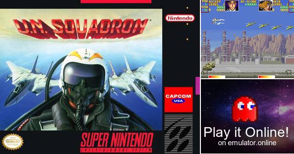Play U N  Squadron (Area 88) on Super Nintendo