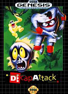 Decap Attack on Sega Genesis (Mega Drive) online