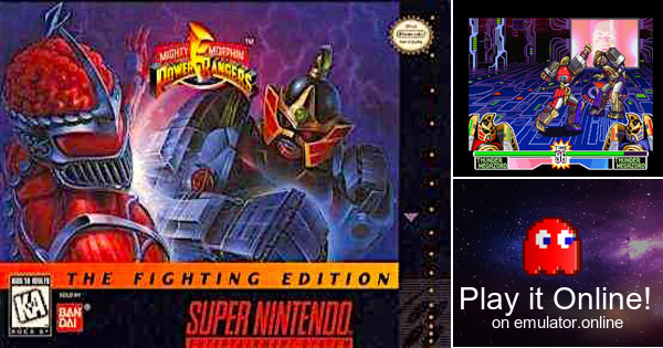 Play Mighty Morphin Power Rangers The Fighting Edition On Super