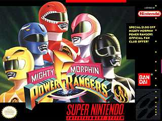 Play Mighty Morphin Power Rangers The Movie On Super Nintendo