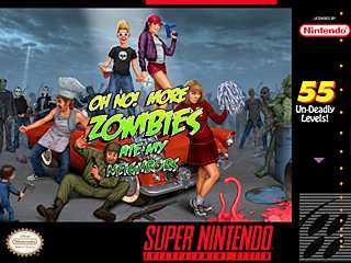 Play Zombies Ate My Neighbors on Super Nintendo